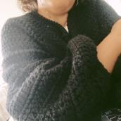 Mi Proyecto del curso:  Top-down: prendas a crochet de una sola pieza. Un projet de Mode, St, lisme, Tissage, DIY , et Crochet de Carlix Alfonzo - 01.07.2021