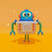 Mi Proyecto del curso: Introducción a la creación de personajes y modelado 3D con Maya. Un projet de 3D, Character Design, Modélisation 3D, Conception de personnages 3D , et Conception 3D de Roman C. Ojer - 02.07.2021