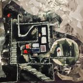 El principito. Um projeto de Design, Ilustração, Arquitetura, Direção de arte, Artes plásticas, Design de cenários, Colagem, Criatividade, Bordado, Ilustração têxtil, Ilustração com tinta e Fotomontagem de Aura R. Cruz Aburto - 29.06.2021