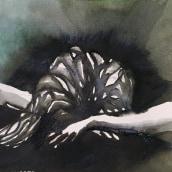 Después de amarte te quise mucho más. Um projeto de Ilustração, Direção de arte, Artes plásticas, Pintura, Stop Motion, Criatividade, Pintura em aquarela, Pintura digital, Ilustração com tinta e Narrativa de Aura R. Cruz Aburto - 26.06.2021