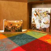 La caja de sorpresas. Um projeto de Ilustração, Design de personagens, Artesanato, Artes plásticas, Pintura, Design de cenários, Colagem, Criatividade, Desenho, Pintura em aquarela, Bordado, Desenho artístico, Ilustração têxtil, To, Art e Teoria da cor de Aura R. Cruz Aburto - 06.07.2021