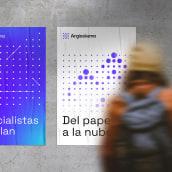 Argieskema – Visual identity. Un proyecto de Br, ing e Identidad y Diseño gráfico de Josu Loizaga - 07.07.2021