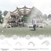Artefactos Urbanos. Un progetto di Design, Architettura, Paesaggismo, Illustrazione architettonica , e ArchVIZ di El Sindicato Arquitectura - 01.10.2018