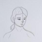 Mi Proyecto del curso: Técnicas de dibujo tradicional con Procreate. Un proyecto de Ilustración, Ilustración digital y Dibujo de Retrato de Emma Fernández - 09.07.2021
