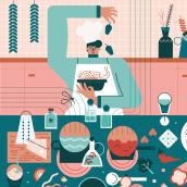 Mi Proyecto del curso: Ilustración vectorial: personalidad y color. Un proyecto de Ilustración, Diseño gráfico, Ilustración vectorial e Ilustración digital de Clara Tabales - 09.06.2021