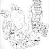 Estudiando a la familia. Un proyecto de Ilustración y Diseño de personajes de Said Brenes Alemán - 10.07.2021