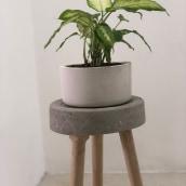 Mi Proyecto del curso: Creación de muebles en concreto para principiantes. A H, werk, Möbeldesign, Innendesign, Innenarchitektur und DIY project by Ikoro - 04.07.2021