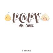 Popy - Mini comic (Original art). Um projeto de Design, Ilustração, Comic, Desenho, Ilustração digital, Ilustração infantil, Desenho digital e Ilustração editorial de srta_acuarela - 14.07.2021