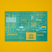 UNESCO & VOLKSWAGEN. A Design, Illustration, and Art Direction project by Del Hambre - 07.15.2021