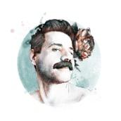 Meu projeto do curso 2: Retrato ilustrado com o Photoshop. Um projeto de Ilustração e Design de Joselia Frasão - 18.07.2021