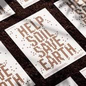 Help Soil Save Earth. Un progetto di Design, Direzione artistica, Br, ing e identità di marca, Graphic Design , e Progettazione 3D di Nathan Smith - 17.07.2021