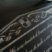 Poesia di Eugenio Montale. A Calligraph project by Giorgio Gaetani - 07.20.2021