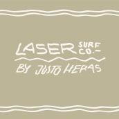 MI PROYECTO FINAL DE CURSO : LASER SURF CO. BY JUSTO HERAS. Um projeto de Design de acessórios, Moda e Design de moda de Justo Heras - 01.03.2021