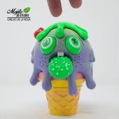 Wanna an icecream? . A 3-D, Design von Figuren, Spielzeugdesign, Kreativität, 3-D-Modellierung, Design von 3-D-Figuren, Grafischer Humor und Art To project by carlos.delarosac - 24.07.2021