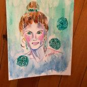 My project in Expressive Watercolor Portraits course. Un progetto di Illustrazione, Belle arti, Pittura, Pittura ad acquerello, Illustrazione di ritratto , e Disegno di ritratto di mariafontana - 26.07.2021