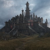 Castle Ruins . A Illustration, 3D, VFX, Photo retouching, Concept Art, and Matte Painting project by Diogo Sampaio - 07.25.2021