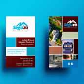 Imagen de marca Seguza. A Design, Advertising, Br, ing, Identit, Graphic Design, and Logo Design project by Miguel Sánchez - 07.28.2021