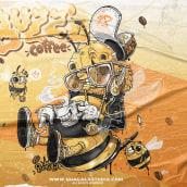 Guacala Collection . Um projeto de Ilustração, Design de personagens e Ilustração digital de Guacala Studio - 30.07.2021