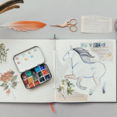 My project in Animal Illustration: Capturing Wildlife in a Sketchbook course. A Illustration, Collage, Sketchbook, and Naturalist Illustration project by Jenny Rae - 07.31.2021