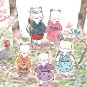 Senda. Editorial Pastel de Luna. A Illustration project by Flor Kaneshiro - 11.01.2020