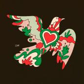MILTON GLASER TRIBUTE. Um projeto de Ilustração, Design gráfico e Artes plásticas de Erick Ortega - 26.06.2020