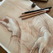 Classical drawing. A Illustration, Fine Art, Painting, Sketching, Pencil drawing, Drawing, Portrait Drawing, Realistic drawing, Artistic drawing, and Naturalist Illustration project by Michele Bajona - 08.10.2021