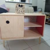 Meu projeto do curso: Design e construção de móveis para iniciantes. Un progetto di Artigianato, Design di mobili, Interior Design, DIY , e Falegnameria  di Pedro Mendes - 12.08.2021