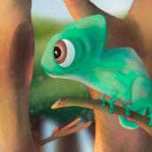 Mi Proyecto del curso: Diseño de personajes: ilustra una criatura expresiva. A Illustration, Design von Figuren, Zeichnung und Digitale Illustration project by Jorge Solanilla - 12.08.2021