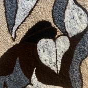 Meu projeto do curso: Bordado XL com agulha mágica. A Embroider, Textile illustration, Decoration, and Punch Needle project by Paulica Santos - 03.01.2021