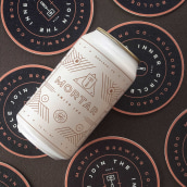 Mortar Brewery Brand Identity. A Design, Graphic Design, Packaging, T, and pograph project by Kevin Craft - 08.17.2021