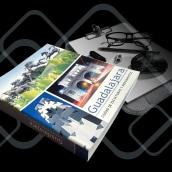 Diseño editorial, libro Monumentos en Guadalajara. Un proyecto de Diseño y Diseño editorial de Luis Eduardo Salazar Guzmán - 18.08.2021