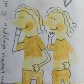 Mi Proyecto del curso: Técnicas de dibujo para perder el miedo a la hoja en blanco. Un proyecto de Diseño, Ilustración, Diseño de personajes, Creatividad, Dibujo y Pintura a la acuarela de marina rivera - 20.08.2021