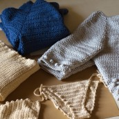 Mi Proyecto del curso:  Top-down: prendas a crochet de una sola pieza. Un projet de Mode, St, lisme, Tissage, DIY , et Crochet de Elena Rodríguez Fajardo - 20.08.2021