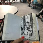 Cafés de Buenos Aires 2012- 2021. A Illustration, Zeichnung, Porträtzeichnung, Sketchbook und Erzählung project by Powerpaola - 16.08.2021