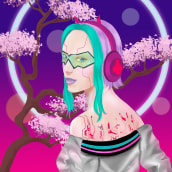 Mi Proyecto del curso: Retratos digitales de fantasía con Photoshop. Um projeto de Ilustração, Desenho, Ilustração digital, Ilustração de retrato, Desenho de Retrato, Desenho digital e Pintura digital de Enrique Hernandez - 24.08.2021