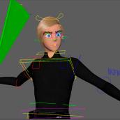 Mi Proyecto del curso: Introducción al rigging para animación. Um projeto de Animação, Rigging e Animação 3D de Roberto Diaz - 24.08.2021