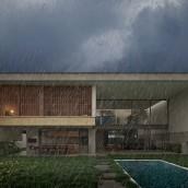 Casa L2   make_hb. Un proyecto de Arquitectura, Arquitectura interior, Diseño de interiores, Paisajismo y Visualización arquitectónica de Federico Hernández Barrón - 25.08.2021