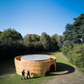 Garden Pavilion. A Architecture & Installations project by Diogo Aguiar - 08.31.2021