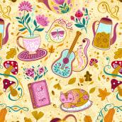 Amor por los Patterns 🧡 . Un proyecto de Ilustración, Diseño y Pattern Design de Car Pintos - 01.09.2021