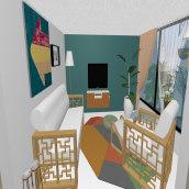 Mi Proyecto del curso: Iniciación al diseño de interiores. Un proyecto de Instalaciones, Diseño de interiores, Decoración de interiores e Interiorismo de Pedro Enrique Bernabel Cuevas - 30.08.2021