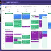 My project in Productivity for Creatives with Google Workspace Tools course. Un projet de Conseil créatif, Gestion de la conception , et Marketing de Chanel Greco - 06.09.2021