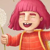 Pintura digital de personajes: ilustra con luz y color. A Illustration, Character Design, Digital illustration, and Digital Painting project by Brenda Matilla - 09.08.2021