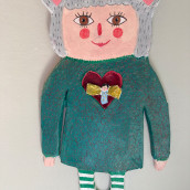 My project in Paper Mache for Beginners: Sculpt a Colorful Character course. A Character Design, To, Design, Art To, and s project by Linda Ekvall - 09.13.2021