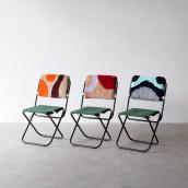 Coleção ACAMPA - Collab com o T44 para a MADE 2018. Un projet de Design , Fabrication de meubles, Design industriel , et Broderie de Luiza Caldari - 18.07.2018