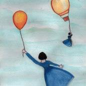 Meu projeto do curso: Cores na aquarela: descubra sua personalidade cromática. A Illustration, Bildende Künste, Malerei, Aquarellmalerei und Farbenlehre project by Simone Gomes Siqueira - 15.09.2021