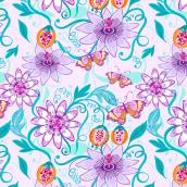 Bed Collection by Car Pintos. Un proyecto de Ilustración, Diseño gráfico, Diseño de producto, Pattern Design, Estampación e Ilustración textil de Car Pintos - 20.09.2021