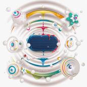Dali Katch speaker. A Illustration, Werbung und Vektorillustration project by José Bernabé - 23.09.2021
