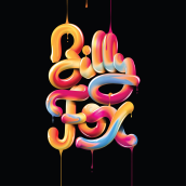 BILLY FOX. SHAPES. A Grafikdesign, Digitales Lettering und 3-D-Lettering project by José Bernabé - 23.09.2021