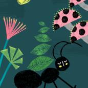 Meu projeto do curso: Ilustração e colagem digital para contos infantis. A Design, Illustration, Collage, Digital illustration, Children's Illustration, and Digital Design project by Larissa Pasqualotto Scopel - 09.25.2021