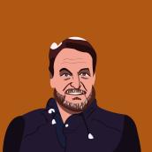 Patricio Manns. Um projeto de Ilustração de Francisco Bonett - 27.09.2021